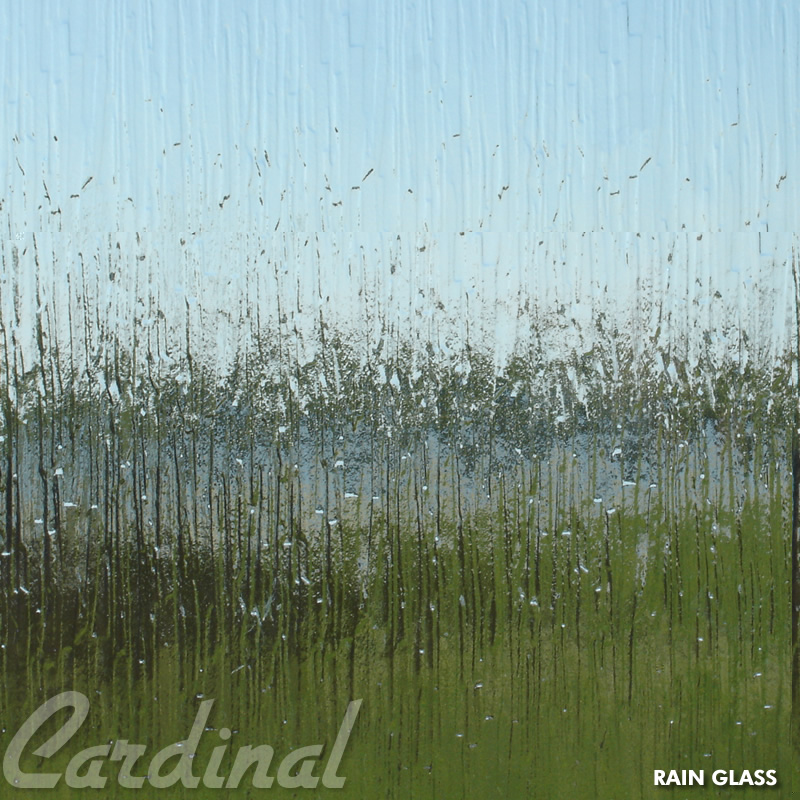 Cardinal Glass Samples Rain